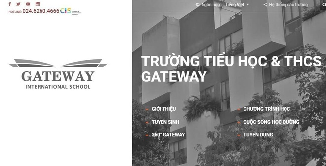 truong quoc te gateway anh 1