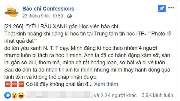 'Hoc vien Bao chi se bao ve sinh vien to bi chu co so tin hoc sam so' hinh anh 1