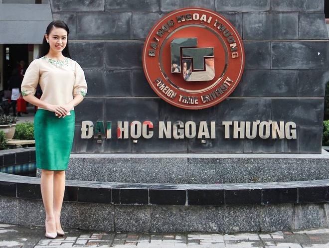9X tung thi Hoa hau Viet Nam tot nghiep xuat sac DH Ngoai thuong hinh anh 6
