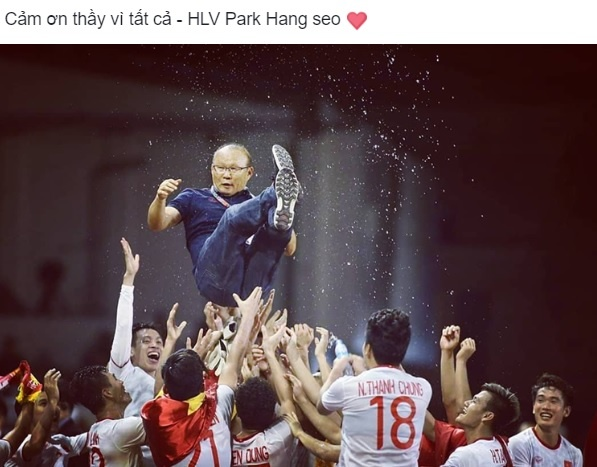 Phia sau nhung hoc tro gioi luon co dau chan cua thay Park Hang-seo hinh anh 4
