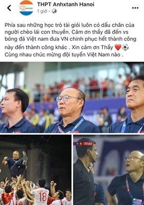 Phia sau nhung hoc tro gioi luon co dau chan cua thay Park Hang-seo hinh anh 2