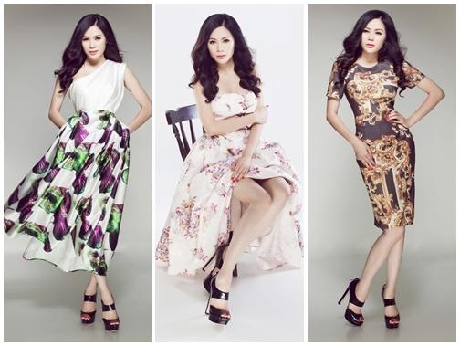 Victoria Phuong Nguyen ngot ngao voi dam xoe hinh anh