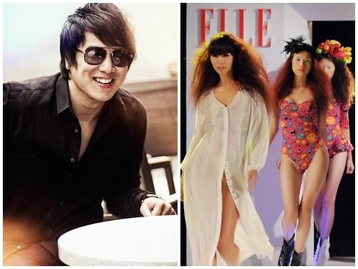 Thanh Bui chi dao am nhac Elle Fashion Show hinh anh