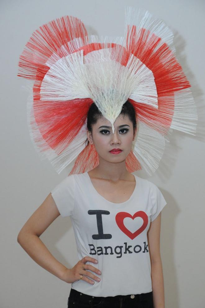Thanh Thao tu tin lam nguoi mau toc hinh anh 17