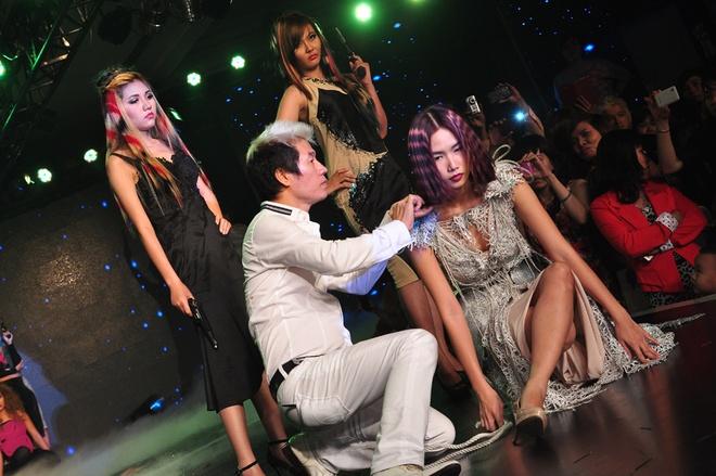Thanh Thao tu tin lam nguoi mau toc hinh anh 3