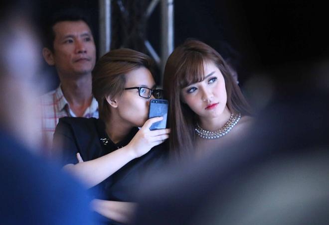 Tien Cookie dua don Bich Phuong du show thoi trang hinh anh