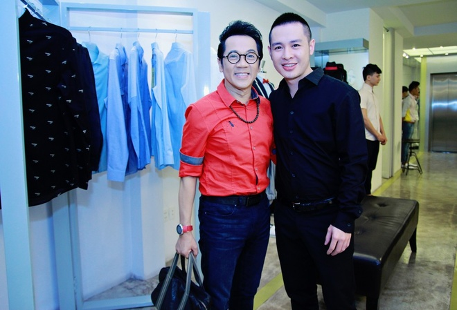Hoang Hai, Thanh Loc tich cuc shopping ung ho NTK Cong Tri hinh anh