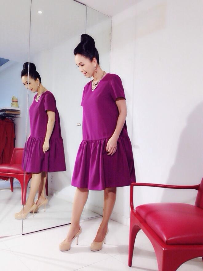 Angela Phuong Trinh khoe duong cong khi thu vay da hoi hinh anh 7