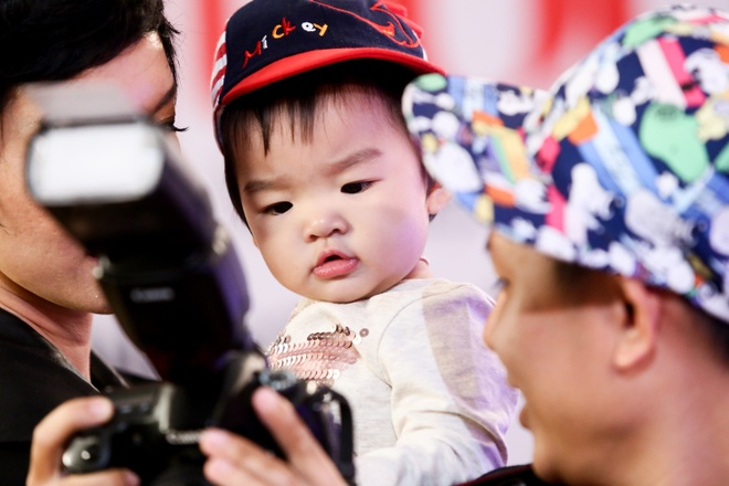 Con gai Xuan Lan theo chan me di cham thi Next Top Model hinh anh 7