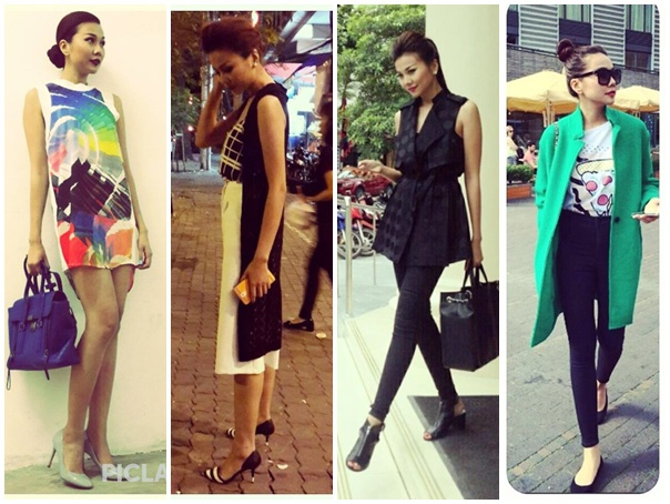12 ung vien 'Nu hoang street style' cua showbiz Viet hinh anh
