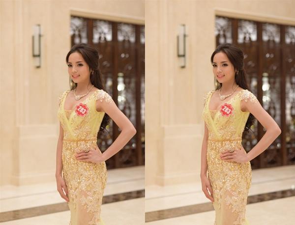 Nhung con so thu vi ve tan hoa hau Nguyen Cao Ky Duyen hinh anh 5 Số báo danh của Nguyễn Cao Kỳ Duyên ít được chú ý đến như tên gọi của cô.