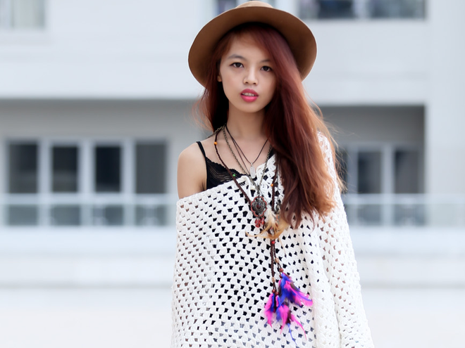 Nhung co nang cuc chat o buoi casting Fashionista Vietnam hinh anh