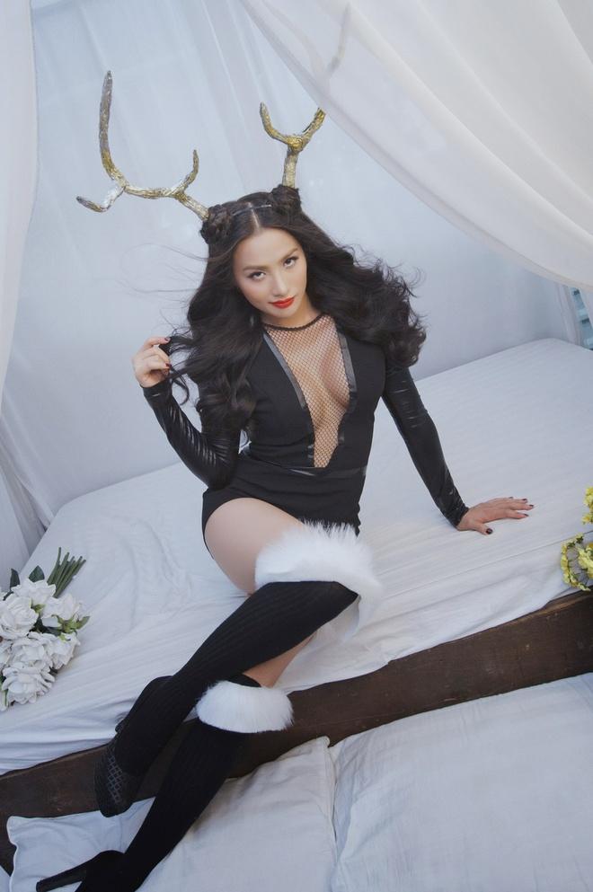 Truong Nhi dien mot khong noi y hoa 'nang linh duong' sexy hinh anh 8