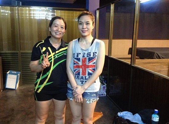 My Tam di danh bong ban cung dao dien Quang Dung hinh anh 1