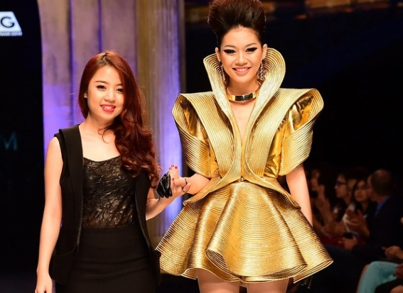 Hai a quan Project Runway tham gia Asia New Designer Awards hinh anh