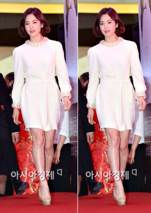 Bi quyet chon do 'an gian' chieu cao cua Song Hye Kyo hinh anh 7