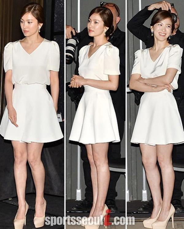 Bi quyet chon do 'an gian' chieu cao cua Song Hye Kyo hinh anh 2