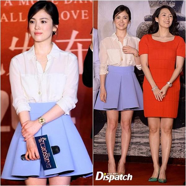 Bi quyet chon do 'an gian' chieu cao cua Song Hye Kyo hinh anh 3