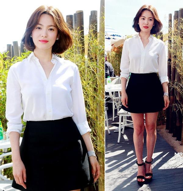 Bi quyet chon do 'an gian' chieu cao cua Song Hye Kyo hinh anh 4