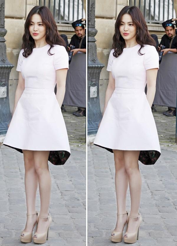 Bi quyet chon do 'an gian' chieu cao cua Song Hye Kyo hinh anh 6