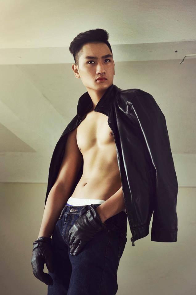 Chang trai E-de gay chu y o Vietnam's Next Top Model hinh anh 8