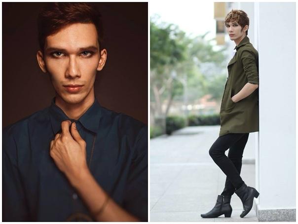 Chang trai E-de gay chu y o Vietnam's Next Top Model hinh anh 13