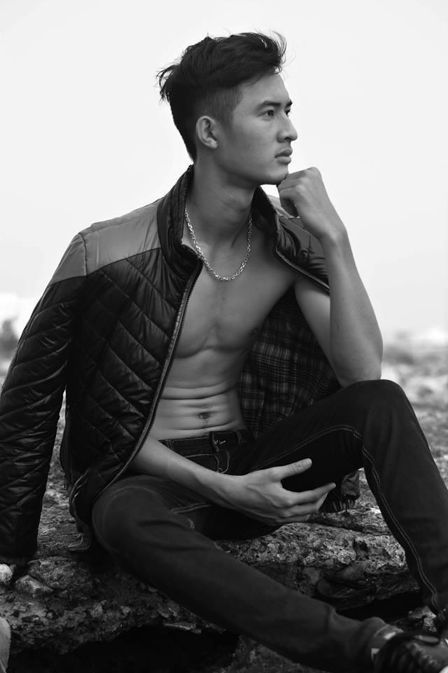 Chang trai E-de gay chu y o Vietnam's Next Top Model hinh anh 4