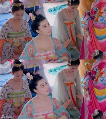 """Đài truyền hình Hồng Kông TVB đã đầu tư một số tiền khổng lồ để """"chế vải"""" che bớt vùng ngực của dàn mỹ nhân Võ Tắc Thiên nhằm đảm bảo không bị chỉ trích vì hở hang. Song vì điều này, phim đã không đạt được số người xem cao kỷ lục như khi chiếu trên đài Hồ Nam. Theo thống kế của QQ, bộ phim này chiếu ở xứ cảng chưa bằng 1/3 thành tích thu sóng tại những đài truyền hình nhỏ ở Trung Quốc đại lục."""