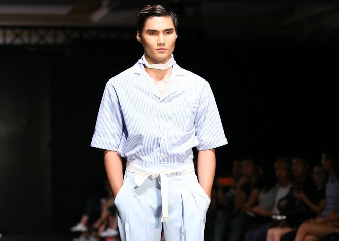 Quang Hung Next Top Model dien do ngu tren san catwalk hinh anh