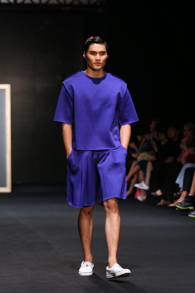 Quang Hung Next Top Model dien do ngu tren san catwalk hinh anh 2