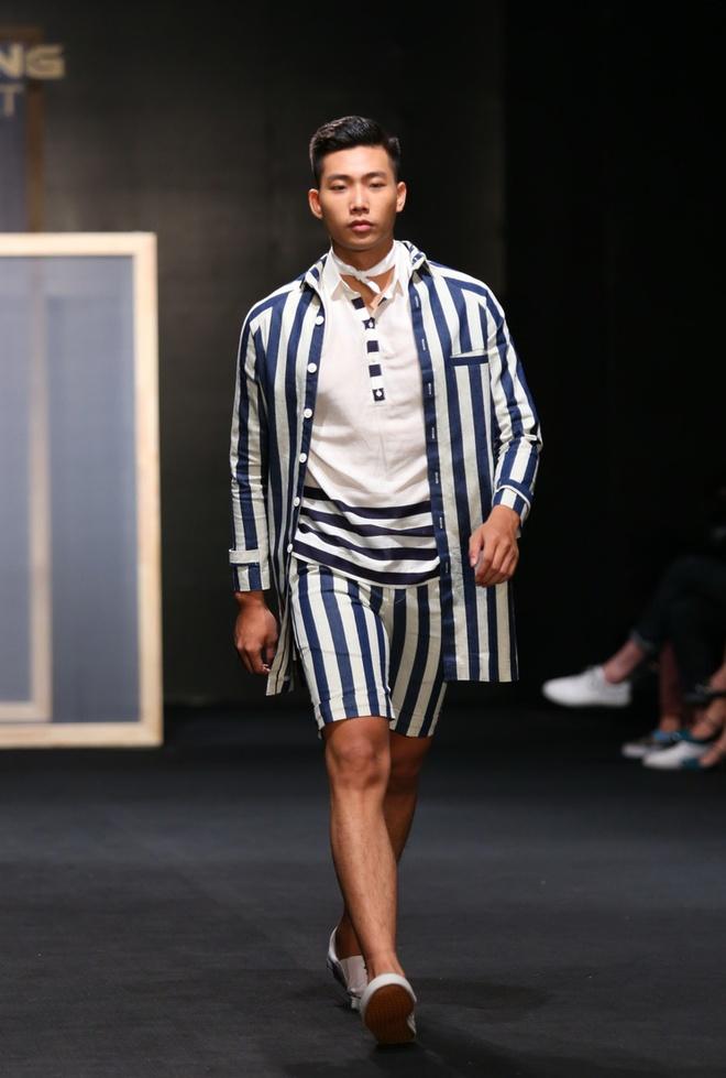 Quang Hung Next Top Model dien do ngu tren san catwalk hinh anh 5