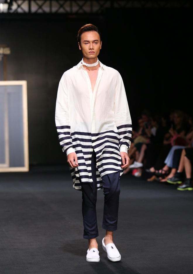Quang Hung Next Top Model dien do ngu tren san catwalk hinh anh 6