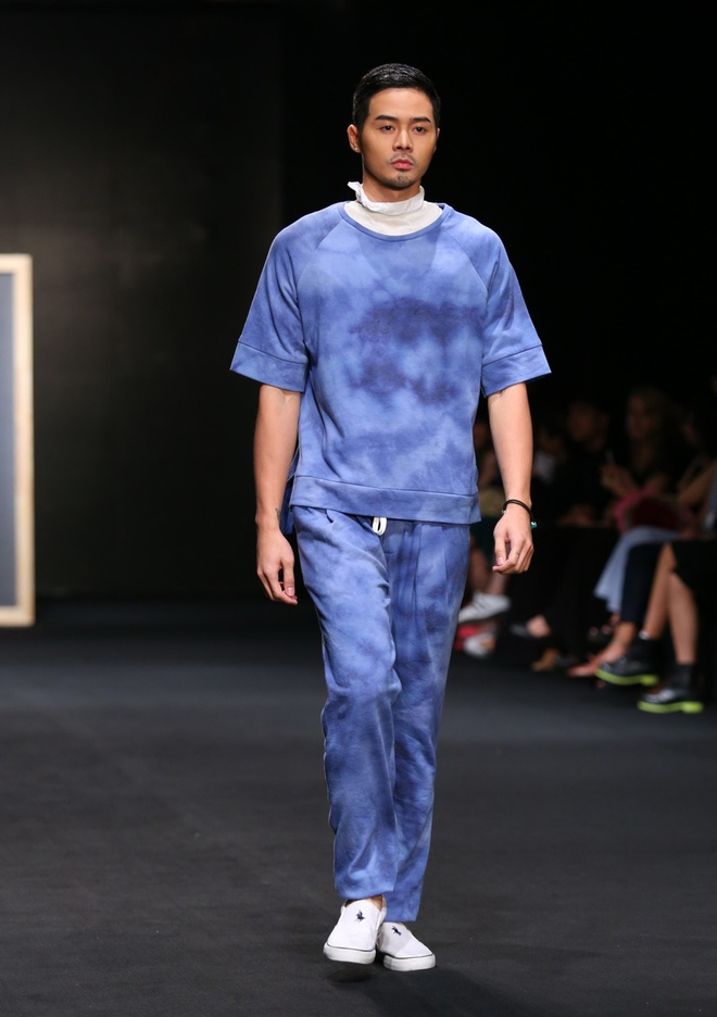 Quang Hung Next Top Model dien do ngu tren san catwalk hinh anh 8
