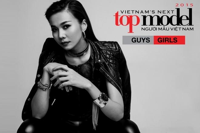 Thanh Hang lam host Vietnam's Next Top Model 2015 hinh anh
