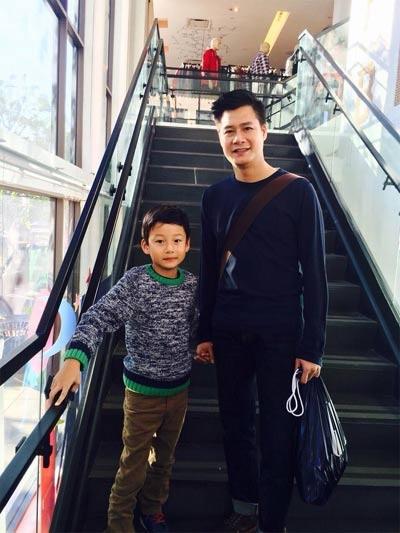 Quang Dung mua nha o My de gan con trai hinh anh 2