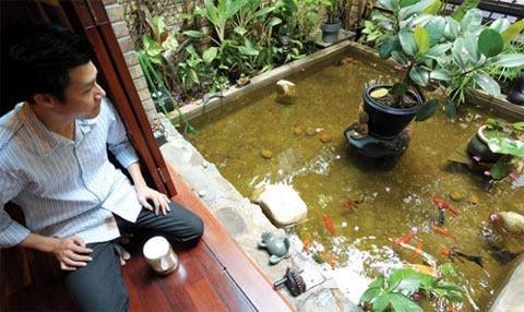 Quang Dung mua nha o My de gan con trai hinh anh 3