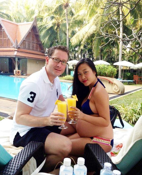 Kieu nu showbiz Viet mang bau van dien bikini goi cam hinh anh 7