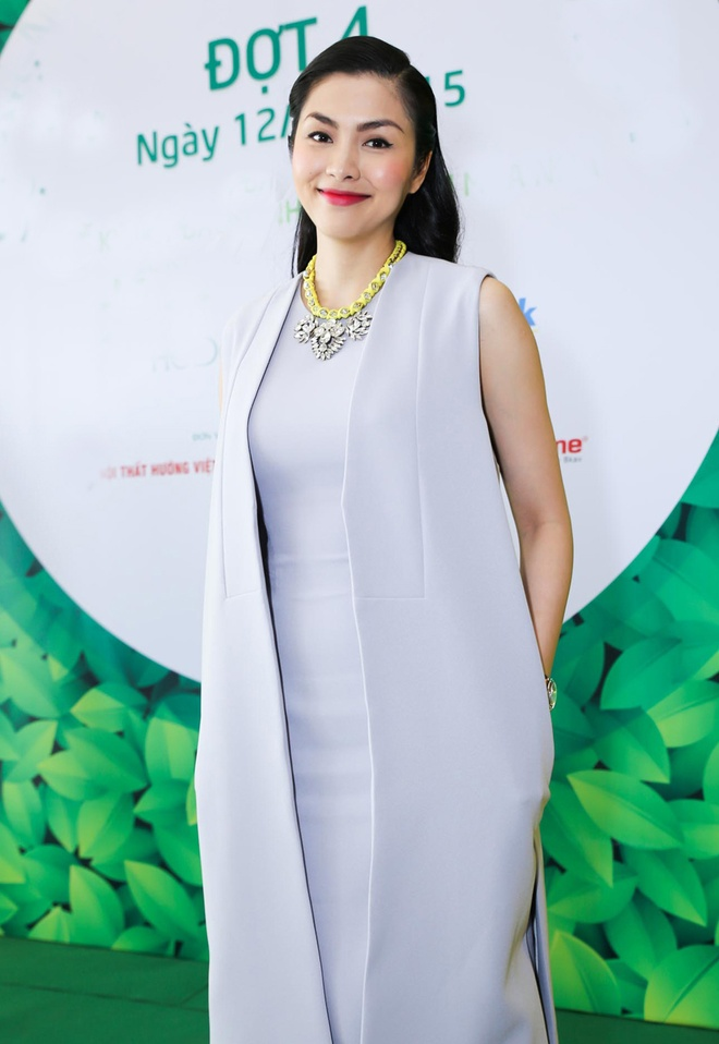 Tang Thanh Ha lan dau di su kien sau sinh con hinh anh 6