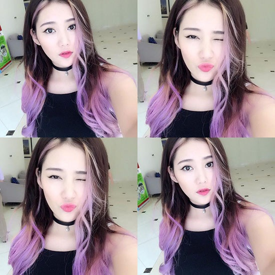 Sao Viet lam moi phong cach voi toc nhuom ombre hinh anh 11