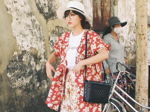 Gu street style dang len cua Bui Bich Phuong hinh anh