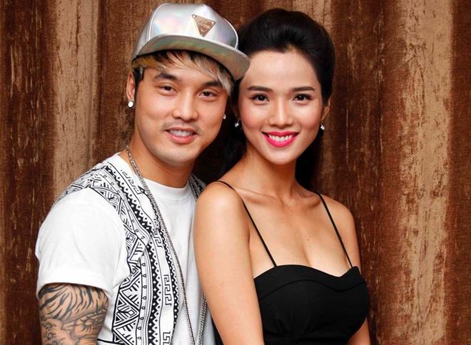 Ung Hoang Phuc va ban gai bi to bo mac dien vien gap nan hinh anh