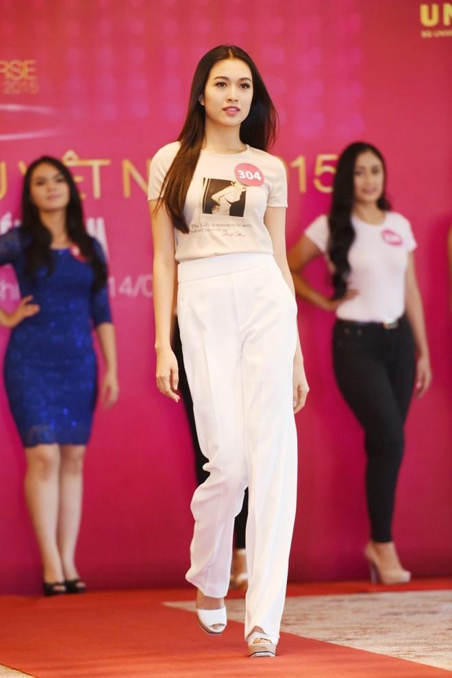 Nguyen Thi Loan, Nam Em duoc dac cach vao chung ket HHHV hinh anh 4