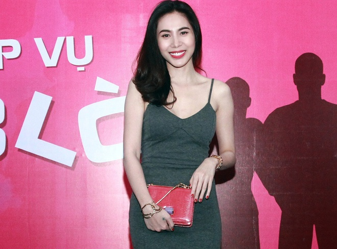 Thuy Tien deo dong ho kim cuong trong buoi casting dien vien hinh anh