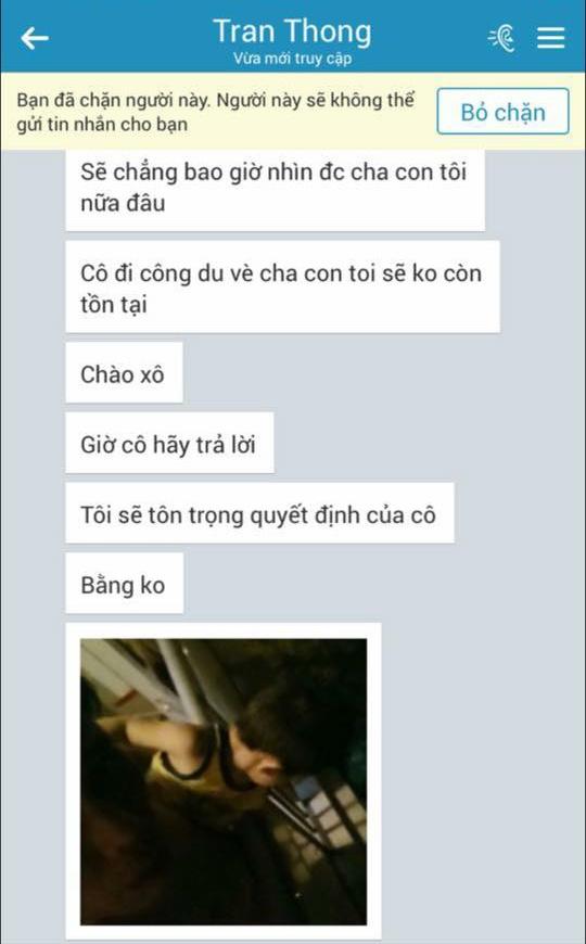 Duong Yen Ngoc to chong cu danh dap, ham doa hinh anh 2