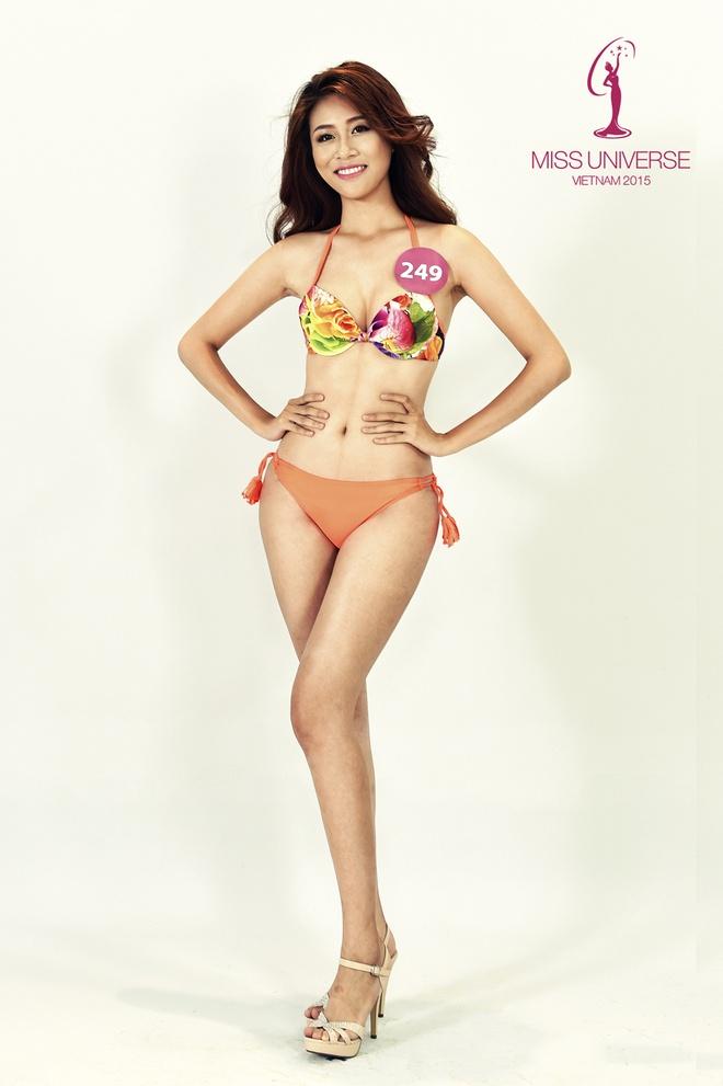 Nguoi dep HH Hoan vu mien Bac khoe so do chuan voi bikini hinh anh 5