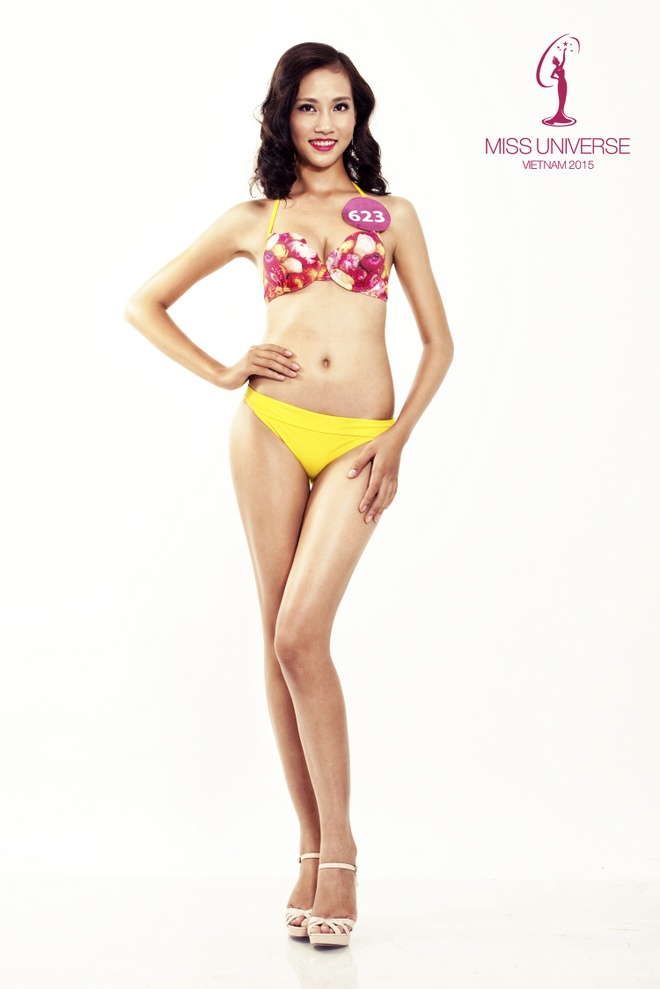 Nguoi dep HH Hoan vu mien Bac khoe so do chuan voi bikini hinh anh 10