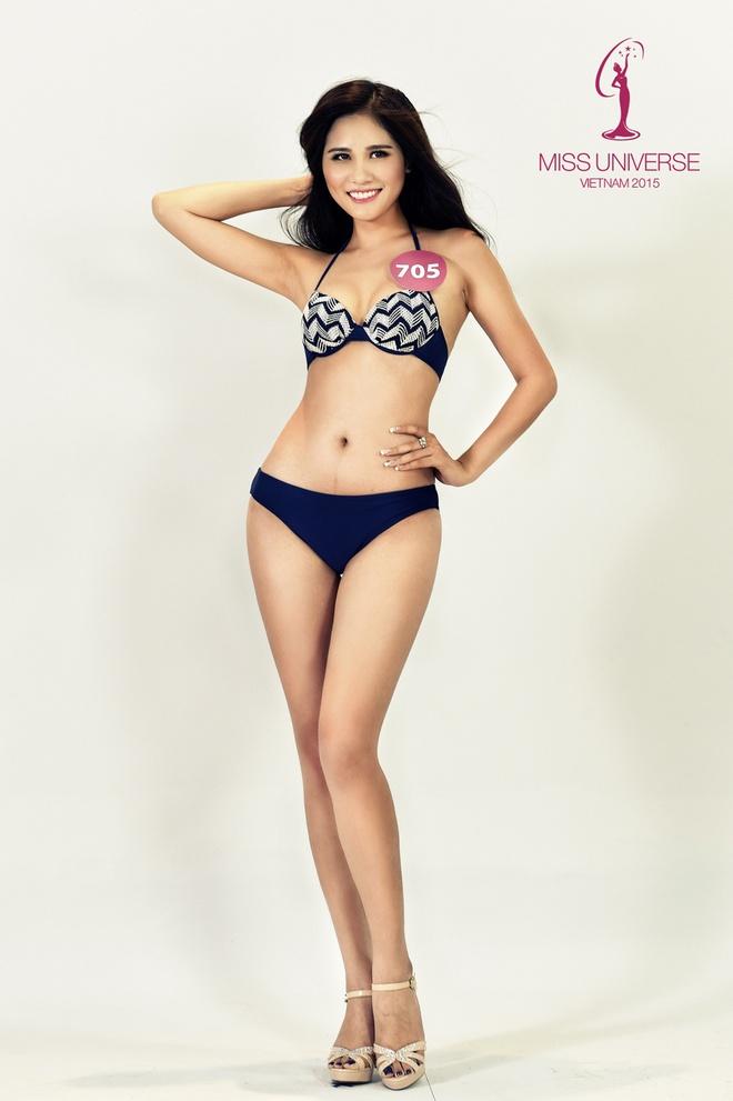 Nguoi dep HH Hoan vu mien Bac khoe so do chuan voi bikini hinh anh 9