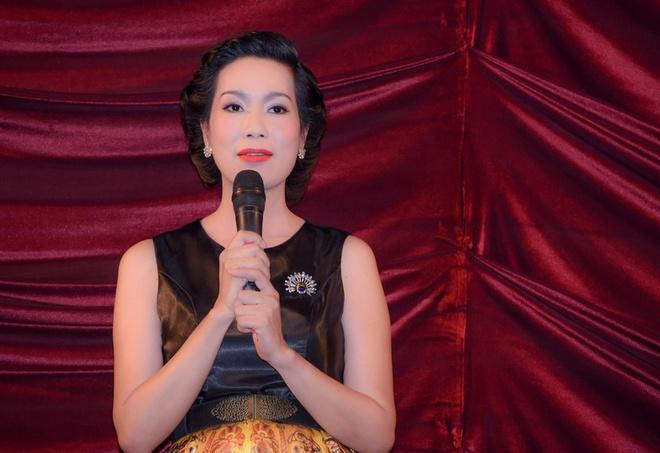 Trinh Kim Chi lan dau gioi thieu con gai o su kien hinh anh 7