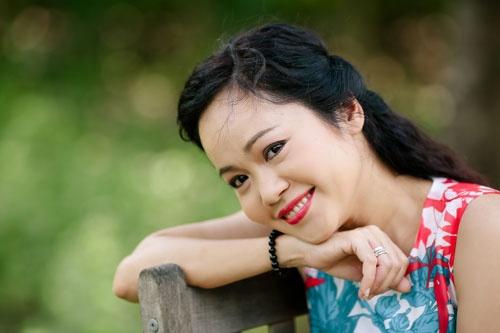 Kim Huyen: Trai nghiem hanh phuc bang kho dau hinh anh