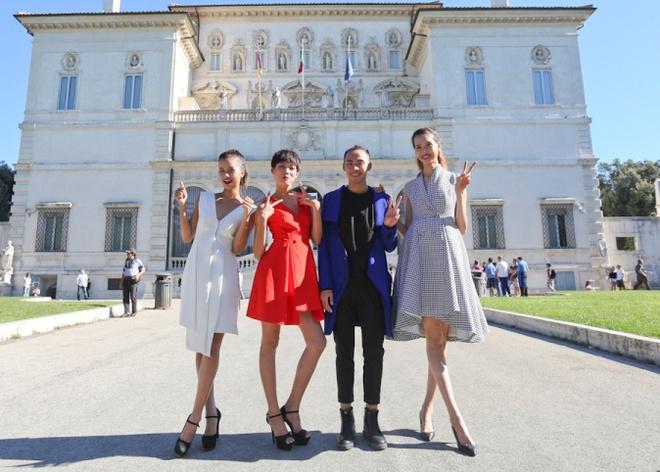 Top 4 Next Top Model sanh dieu tren duong pho Italy hinh anh 1